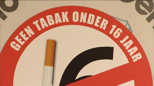 Geen tabak onder 16 jaar