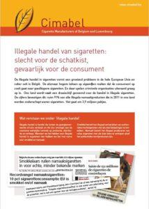 Screenshot Factsheet Illegale handel NL